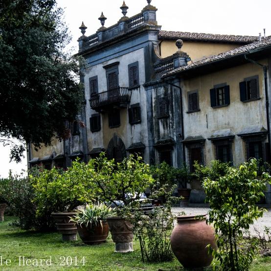Il Corno, The Winery Builing