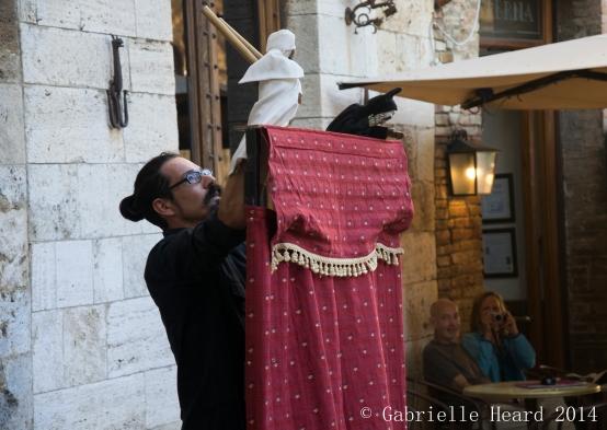 San Gimignano, Behind the Curtain
