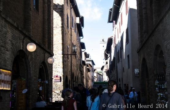 San Gimignano, Within the City