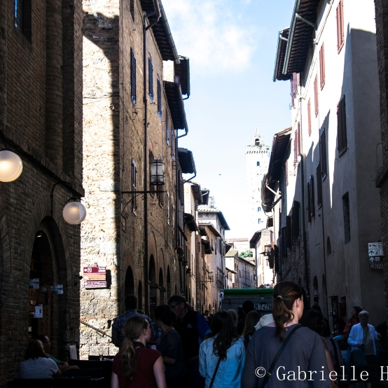 San Gimignano, Within the City