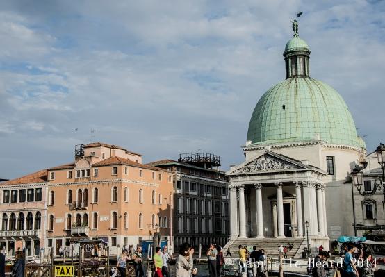anta Maria della Salute Church and Venice